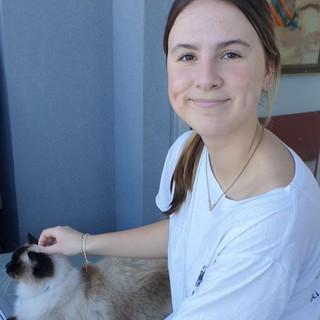 Our newest junior member, Matilda Lea
