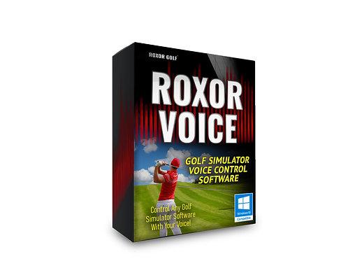 Roxor Voice Simulator Control Software