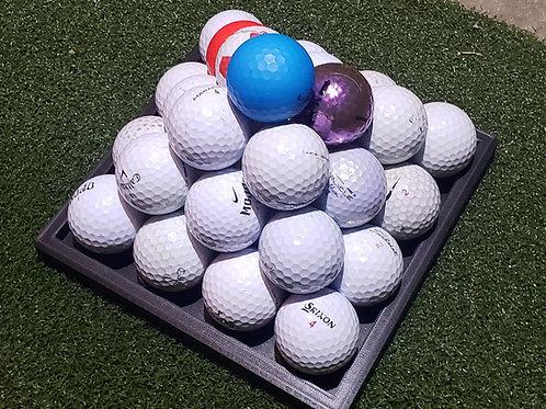 Golf Ball Pyramid Holder