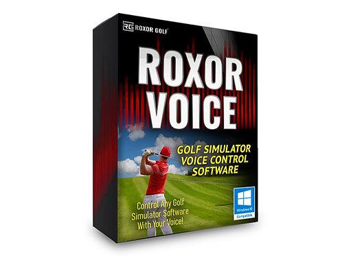 Roxor Voice - Golf Simulator Control Software
