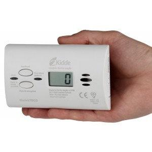 Czujnik czadu i tlenku węgla KIDDE 7DCO 10 LAT LCD