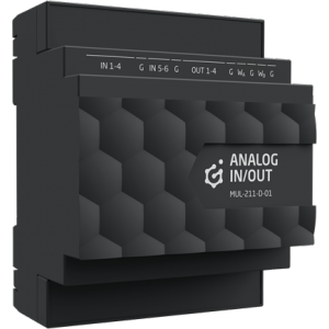 GRENTON - ANALOG IN/OUT, DIN, TF-Bus, 1-wire