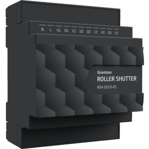 GRENTON - ROLLER SHUTTER x3, DIN, TF-Bus