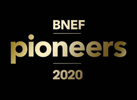 Bloomberg Names StoreDot as a 2020 BNEF Pioneer