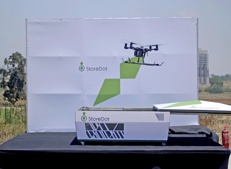World's First 5-Minute Charge of a Commercial Drone