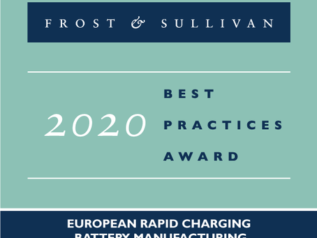 StoreDot Receives Frost & Sullivan's New Product Innovation Award