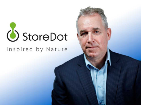 StoreDot Appoints Former BP Ventures' David Gilmour as Chairman