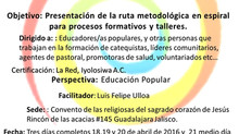Taller de la Red sedes: Guadalajara y CIRM México