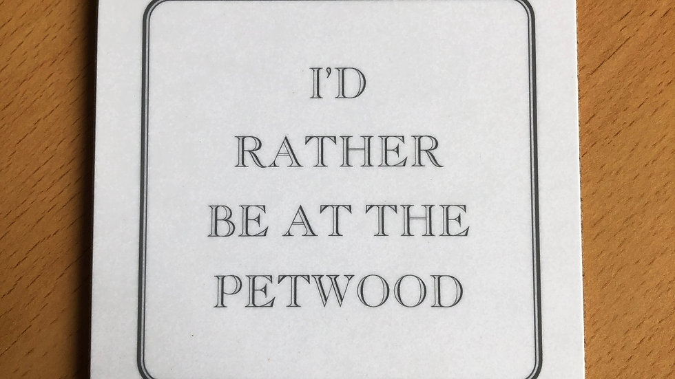 I'd rather be at the Petwood coaster