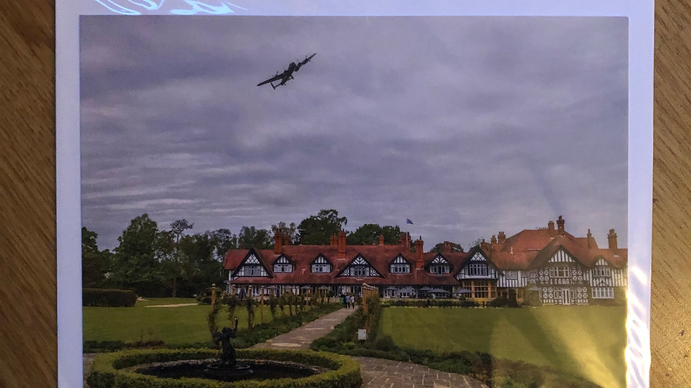 Lancaster over the Petwood Greeting Card