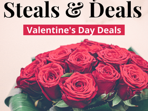 Valentine's Day Deals Without Leaving The House