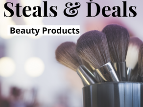 Find the top deals on beauty products