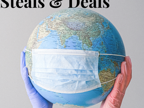 Find the top deals on things to keep you safe during this Pandemic