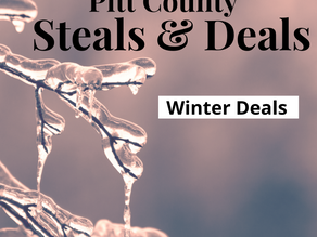 Winter Blues? We have the deals to warm you up!