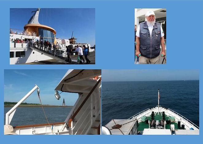 Unsere Reise nach Helgoland
