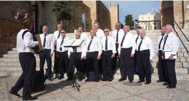 Auftritt Kathedrale Palma de Mallorca