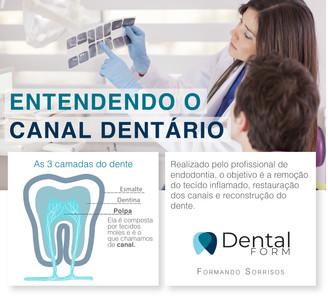 Entendendo o canal dentário