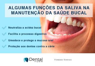 A importância da saliva na manutenção da saúde bucal