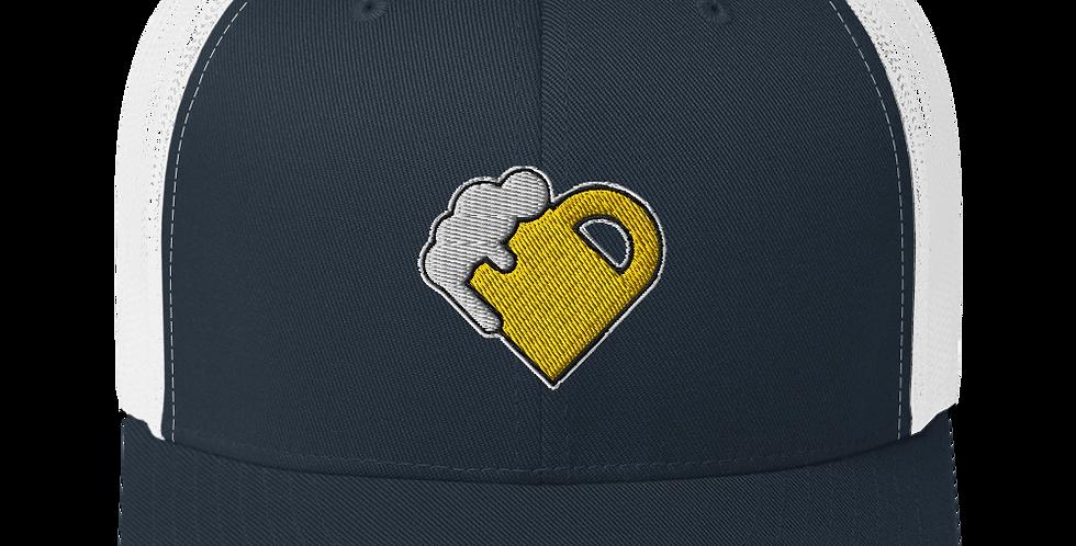 Fourth Room Brewing Beer Heart Trucker Cap