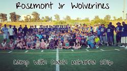 Camping at Rosemont High School