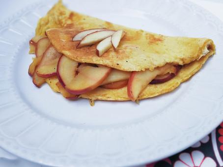 Omelettes de Manzana