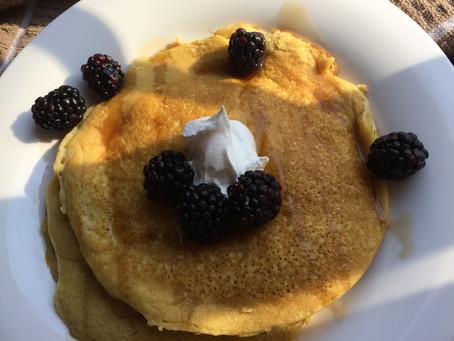 Pancakes con Harina de Coco-Gluten free
