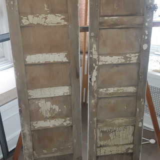 Window pannels before