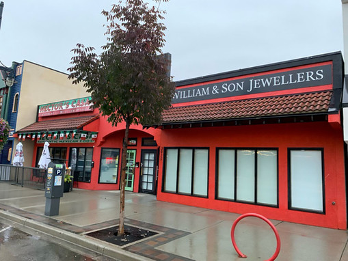 Mexican restaurant and Jewelry store