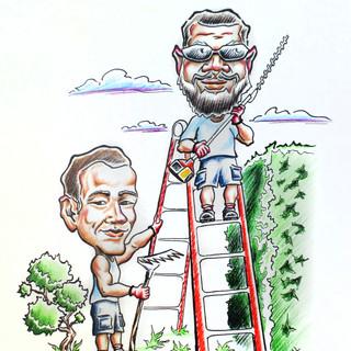 Bros co. caricature