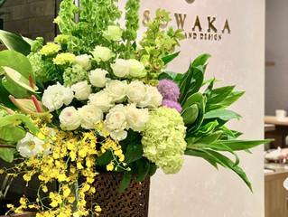 SOWAKのスタンド花