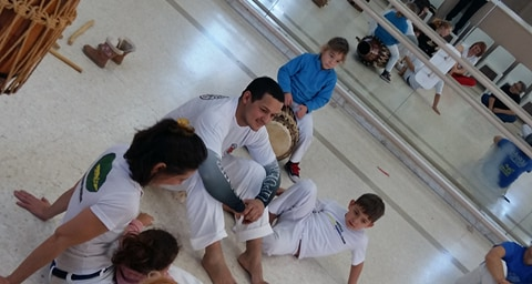 Discussion autour de la Capoeira