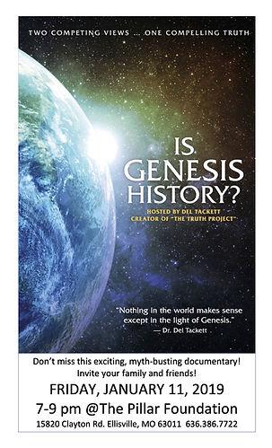 Is Genesis History? Flyer.jpg