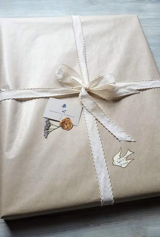 Bridal Frame wrapping detail