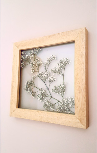 Small wood frame (30cm x 30cm)