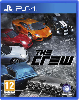 """THE CREW"" for PS4 Back in stock"