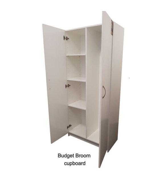Budget Broom Cupboard 1800H  x 800W x 420D