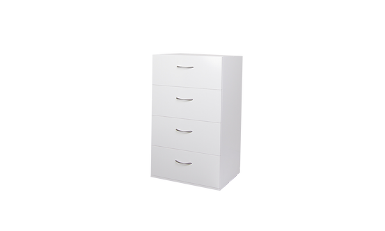 U Can Stack 4 Drawer 975Hx600Wx400D