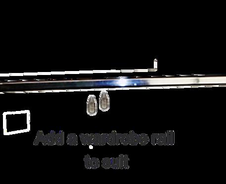 U Can Stack Wardrobe Rail 900W