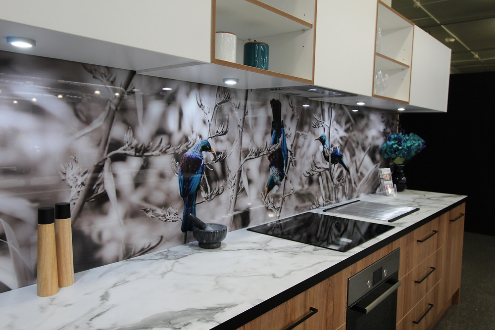 Lucy G Tui Glass splashback