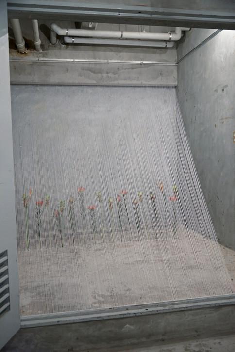 """Installation  exhibition """"solos APARTMENT vol.2"""""""