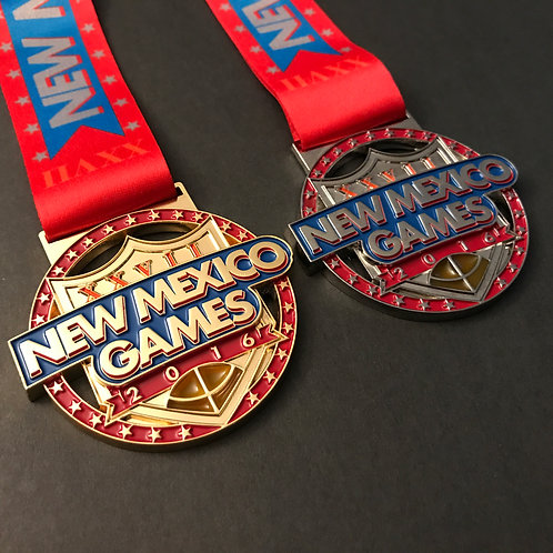 2016 New Mexico Games Medal