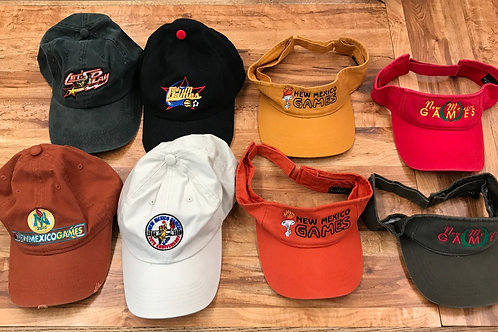 New Mexico Games Variety Hats & Visors $10 each