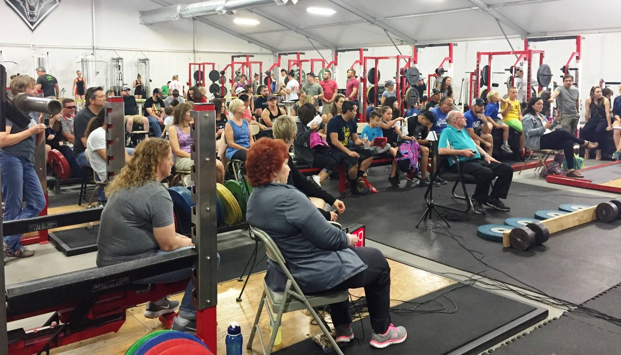 A GREAT TURNOUT FOR WEIGHTLIFTING