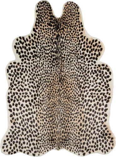 Cheetah Faux Cowhide