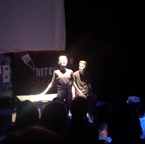 """Too Much Light: Not Enough Sauce - Theatre Junior Project - Written, Performed, Directed and Designed by Colin Covert """"Four Or Five Interesting Hours In The Company Of Each Other And What Felt Like A Wonderfully Italicized Version Of The Familiar Reality"""""""