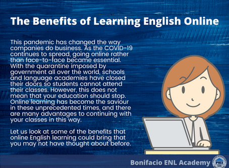 Benefits of Learning English Online