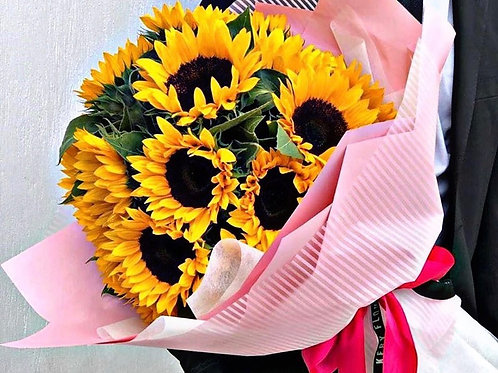 Sunflower Deluxe Bouquet