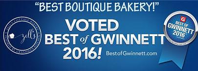 Best Boutique Bakery in Best of Gwinnett 2016