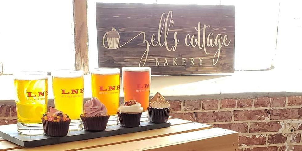 3rd Annual Cupcake & Beer Pairing with Left Nut Brewing