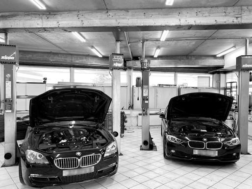 Bmw 650i motorrevisie en BMW 328i met ni